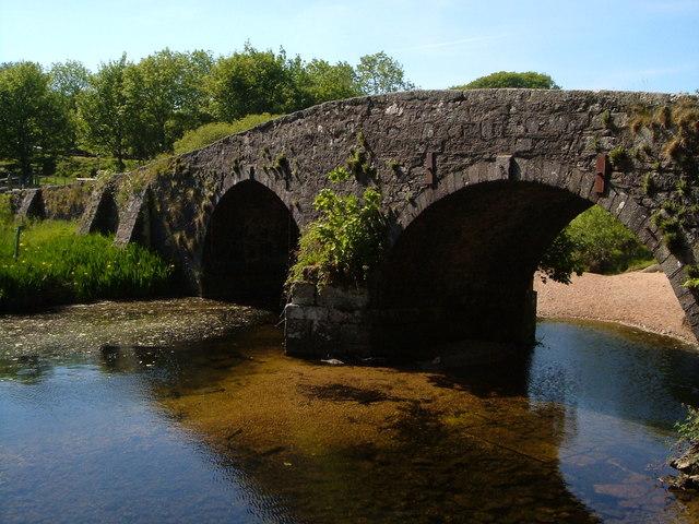 The old bridge, Two Bridges