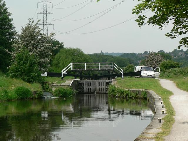 Kirkstall Lock, Leeds and Liverpool Canal