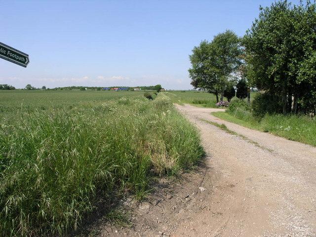 Footpath to the Motorway