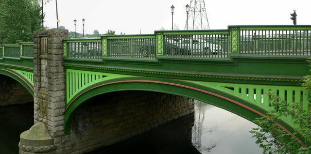 Kirkstall Bridge over the River Aire