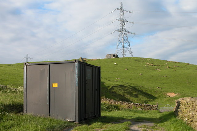 Electricity generator below Nab End