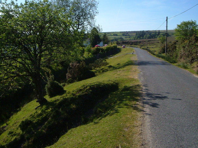 Lane near Postbridge