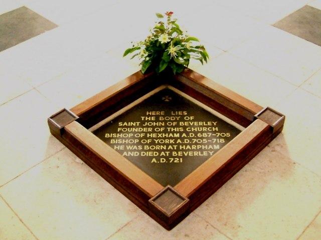 Grave of St John of Beverley