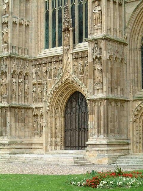 Great West Door of Beverley Minster