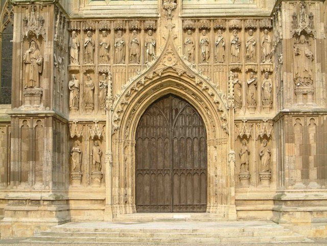 Great West Door of Beverley Minster