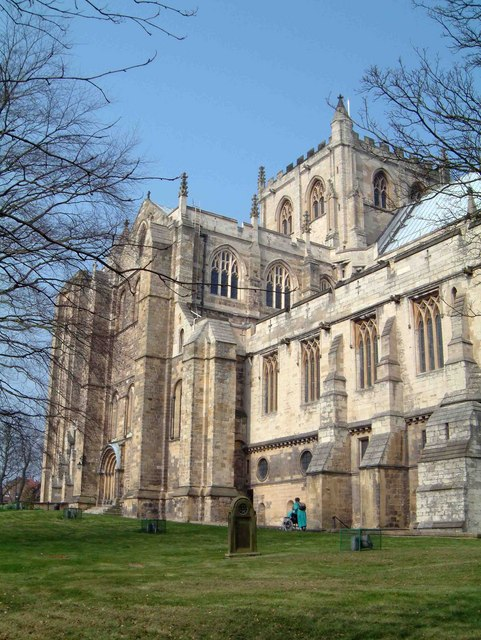 Central Tower of Ripon Cathedral