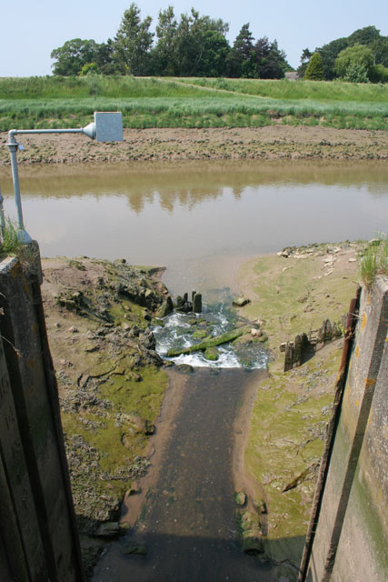 Lord's Drain outfall