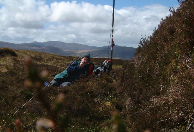 Summit of Fionn Bhealach