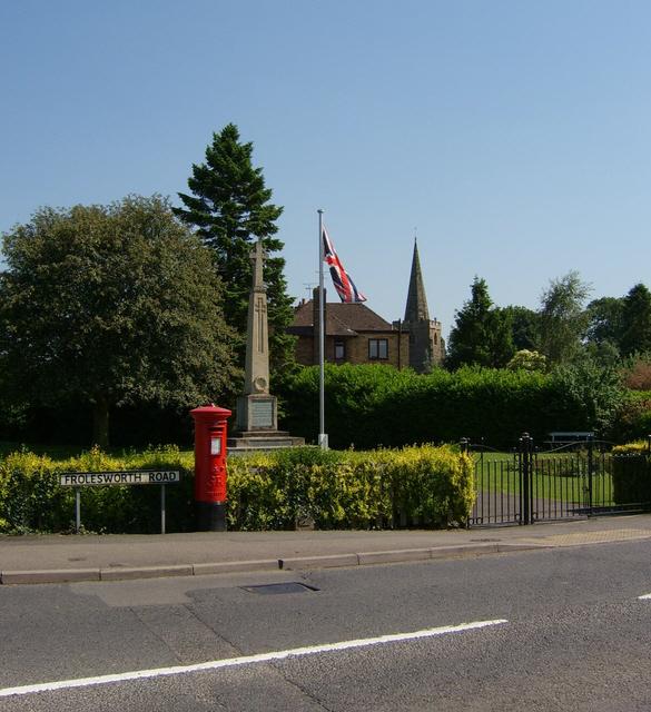 The War Memorial, Broughton Astley