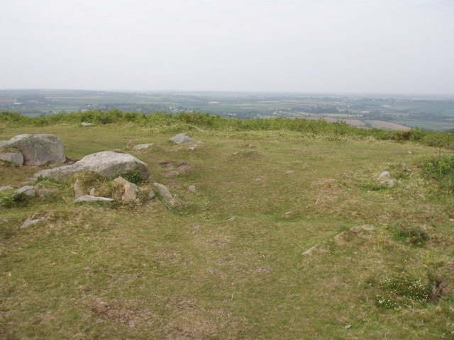 View north from Godolphin Hill