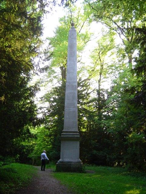 The Obelisk in Tring Park