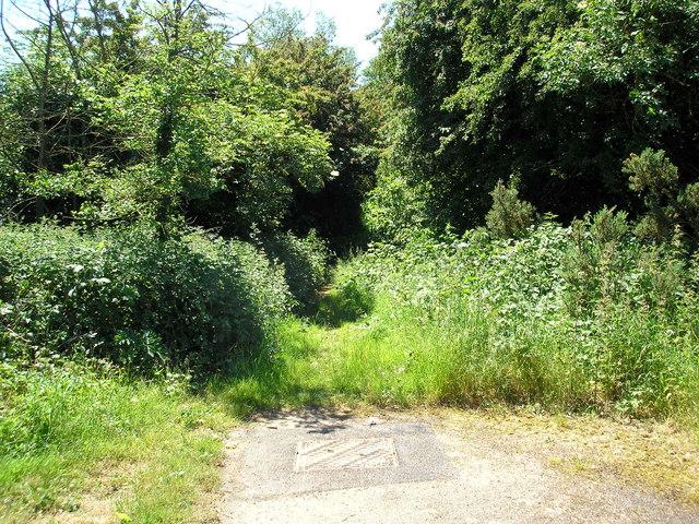 A bridleway no more, Limpsfield, Surrey