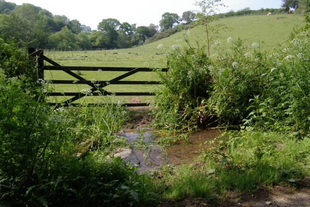 Gate and Stream, near Hay Lake Mill