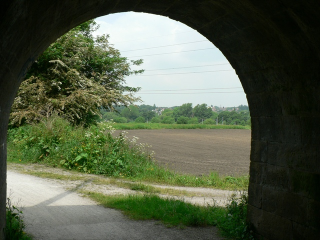View from the subway, Leeds & Liverpool Canal