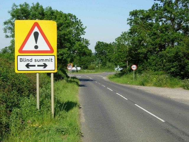 Crossroads near Cold Ashby