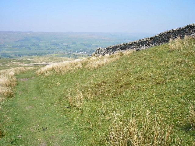 Pennine Way near Hawes