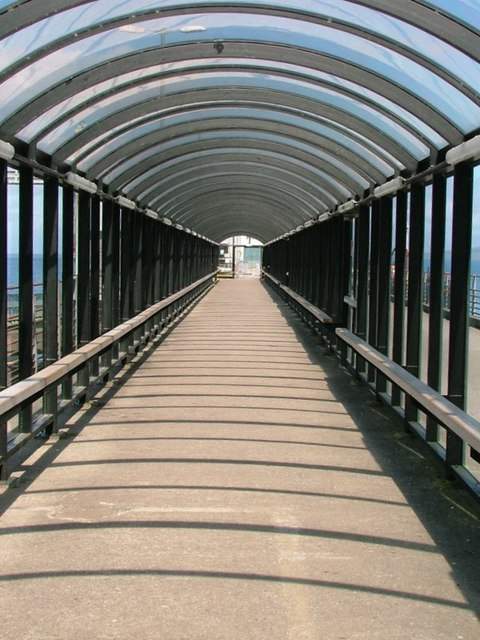 Covered Walkway, Craignure Ferry Terminal