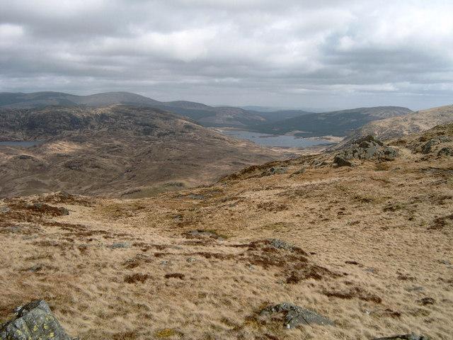 Looking towards Loch Dee