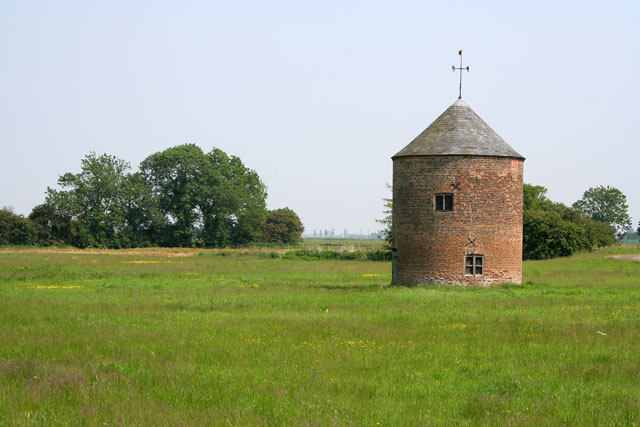 Round building, Wragg Marsh House