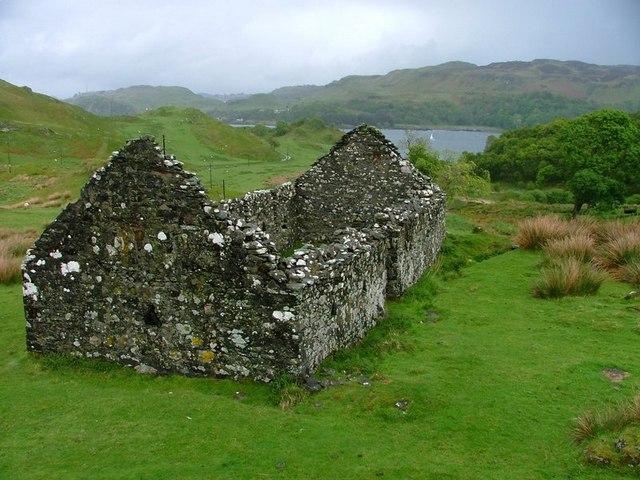 Ruined Croft, Upper Gylen