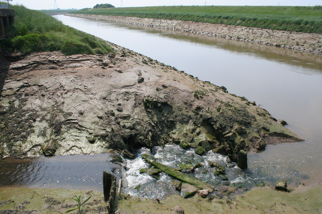 River Welland at low tide
