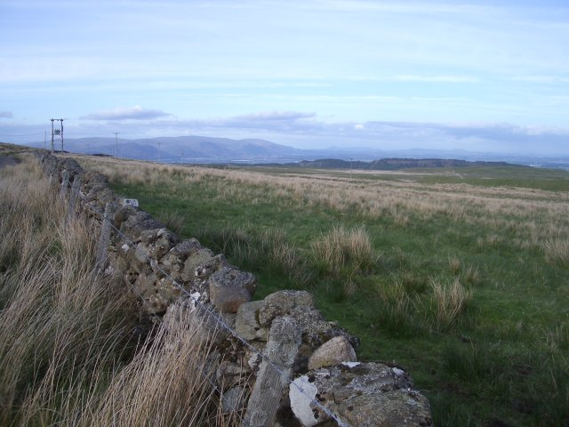 East to the Ochils