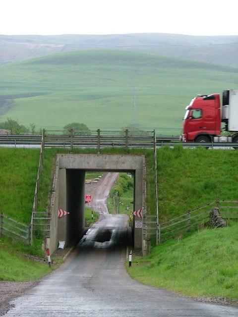 Bridge Under the M74