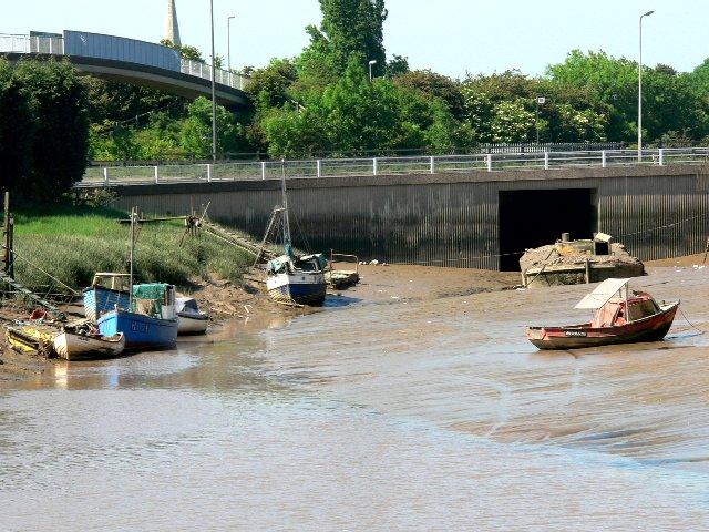Boats in Hessle Haven