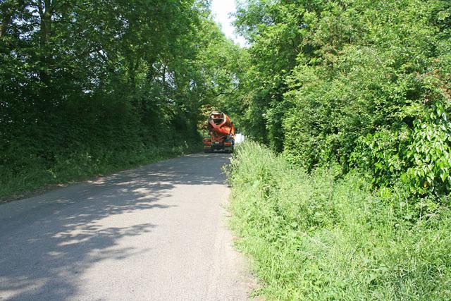 Marsh Road near Spalding