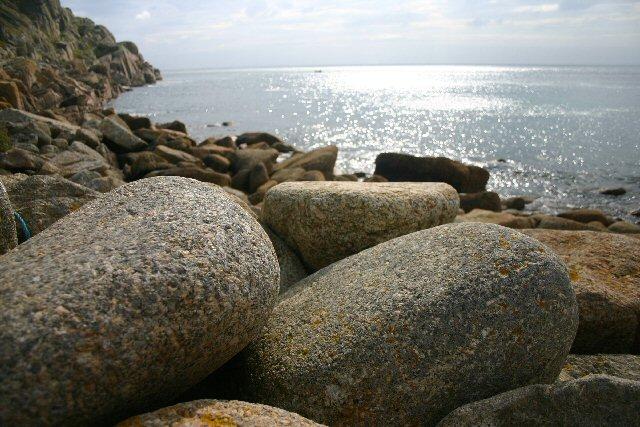 Rocks at Penberth Cove