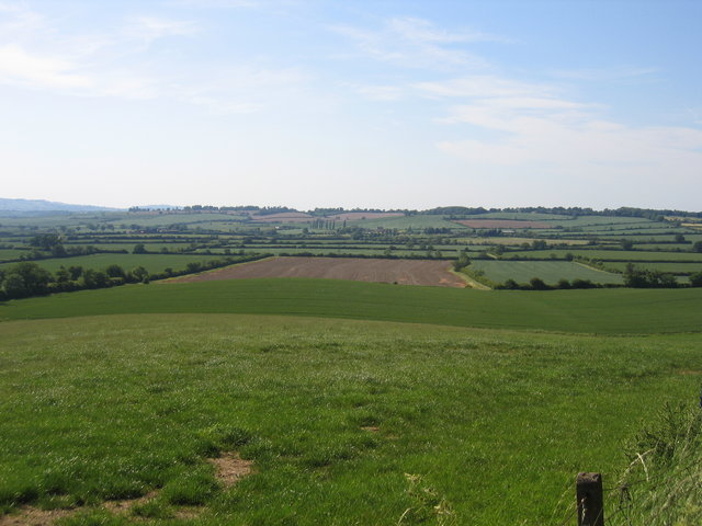 View towards St Dennis