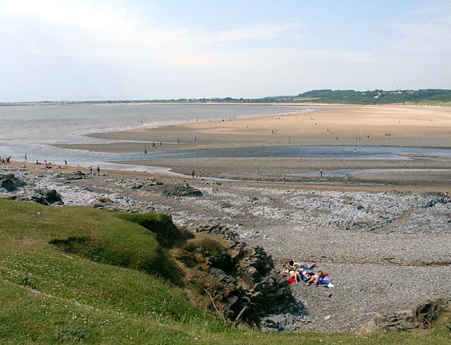 View of Traeth yr Afon across the River