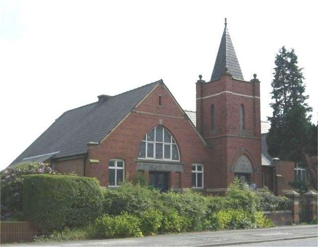 Wesleyan Methodist Church, Haslington