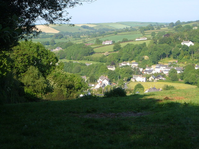 View near South Zeal