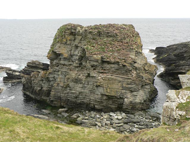 Castle o'Burrian, Westray