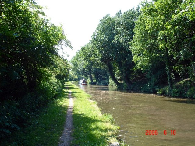 Trent & Mersey Canal at Little Leigh