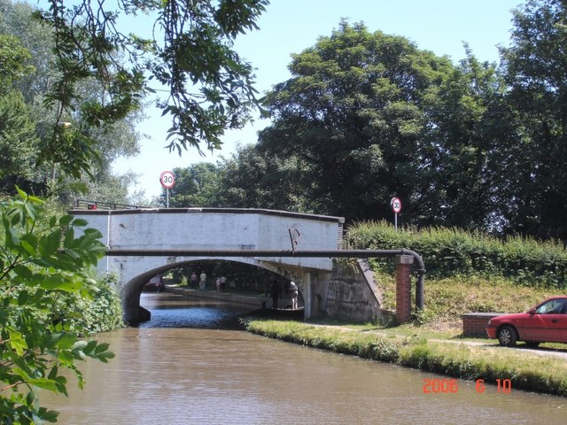 Soot Hill bridge on the Trent & Mersey Canal