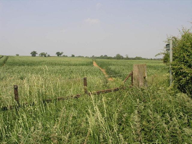 Footpath To Bytham
