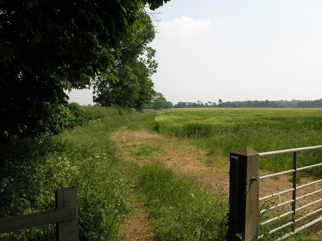 Footpath to Aunby