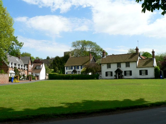 Houses on School Green, Bishop Burton