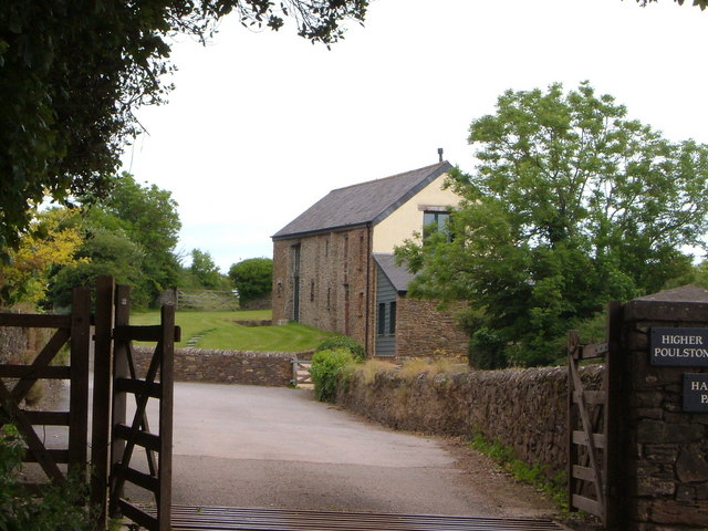 Holiday cottages at Higher Poulston