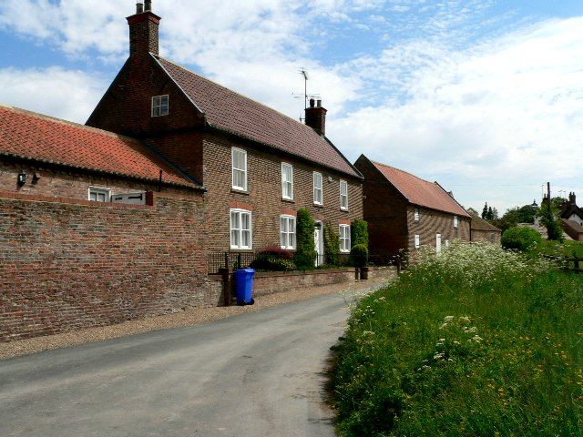 Houses on North End, Bishop Burton