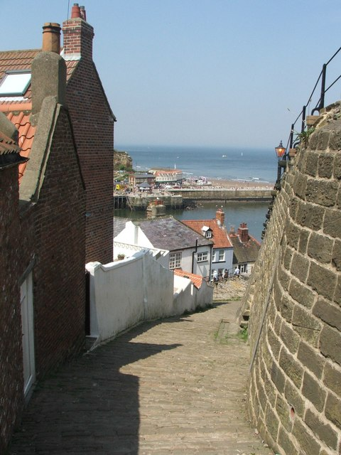 Whitby Alleyway.