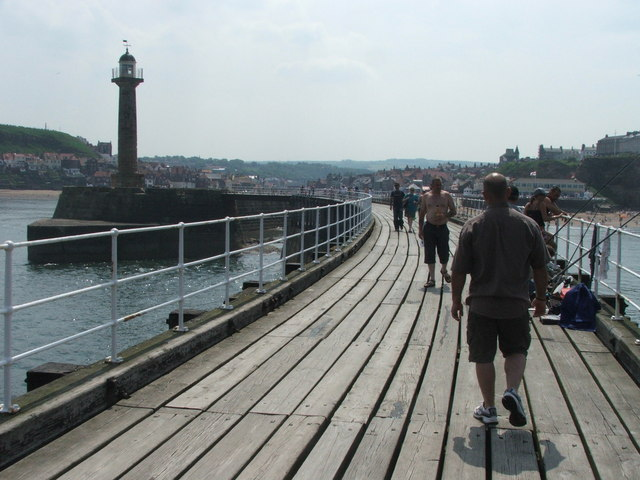 West Pier, Whitby.