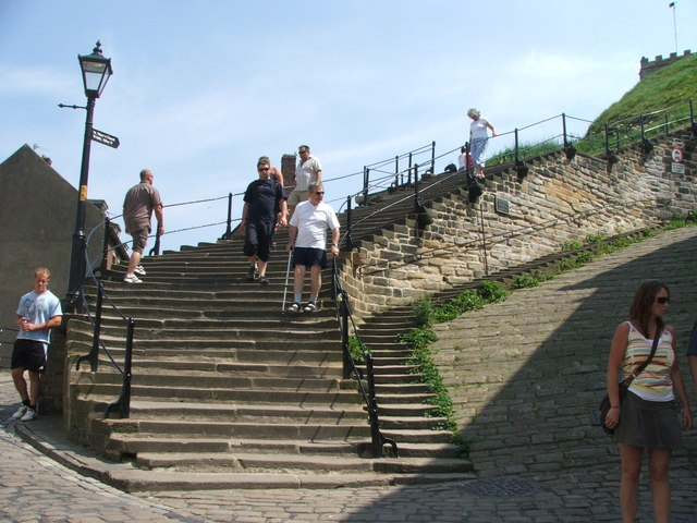 Church Steps, Whitby.