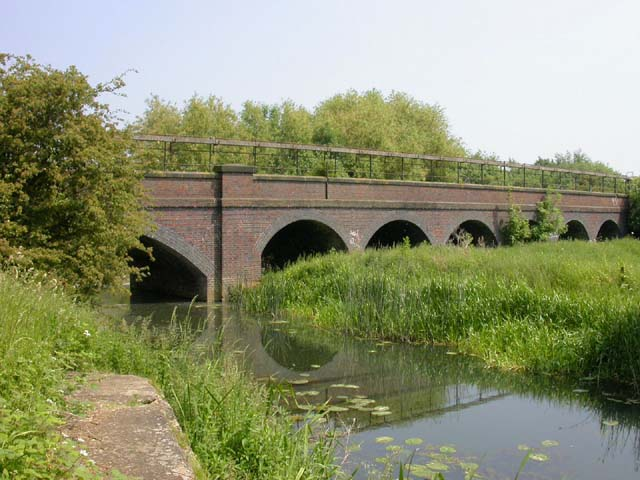 Railway Viaduct over the Nene