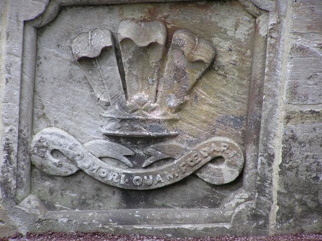 Coat of Arms : The Grove Bridge : Hamsterley.