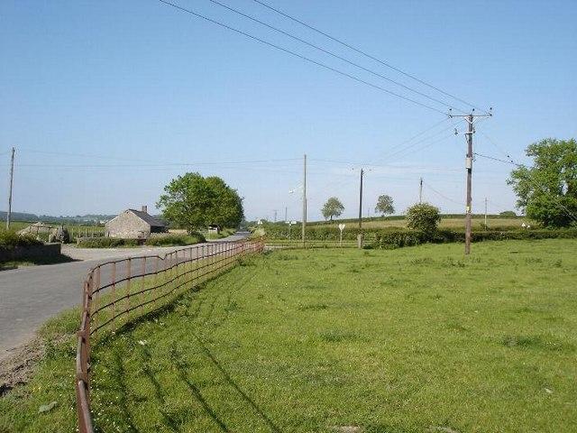 Pen y Cefn crossroads