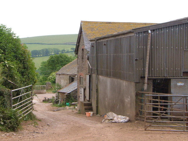 Farm buildings at Lower Poulston