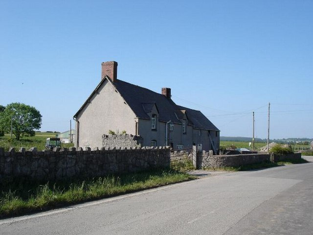Farm at Pen y Cefn